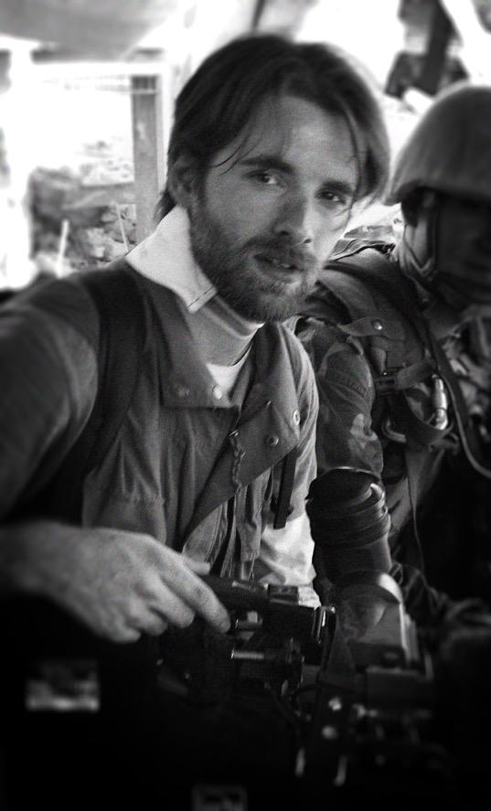 Manfred Preiss mit Kamera